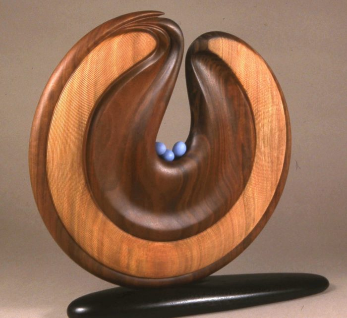 Bearing Blue Eggs by Betty Scarpino