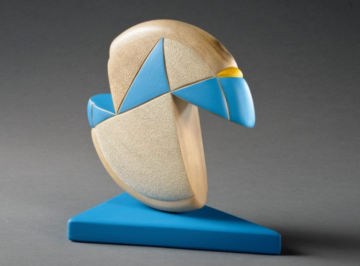 Blue Dance (back) by Betty Scarpino
