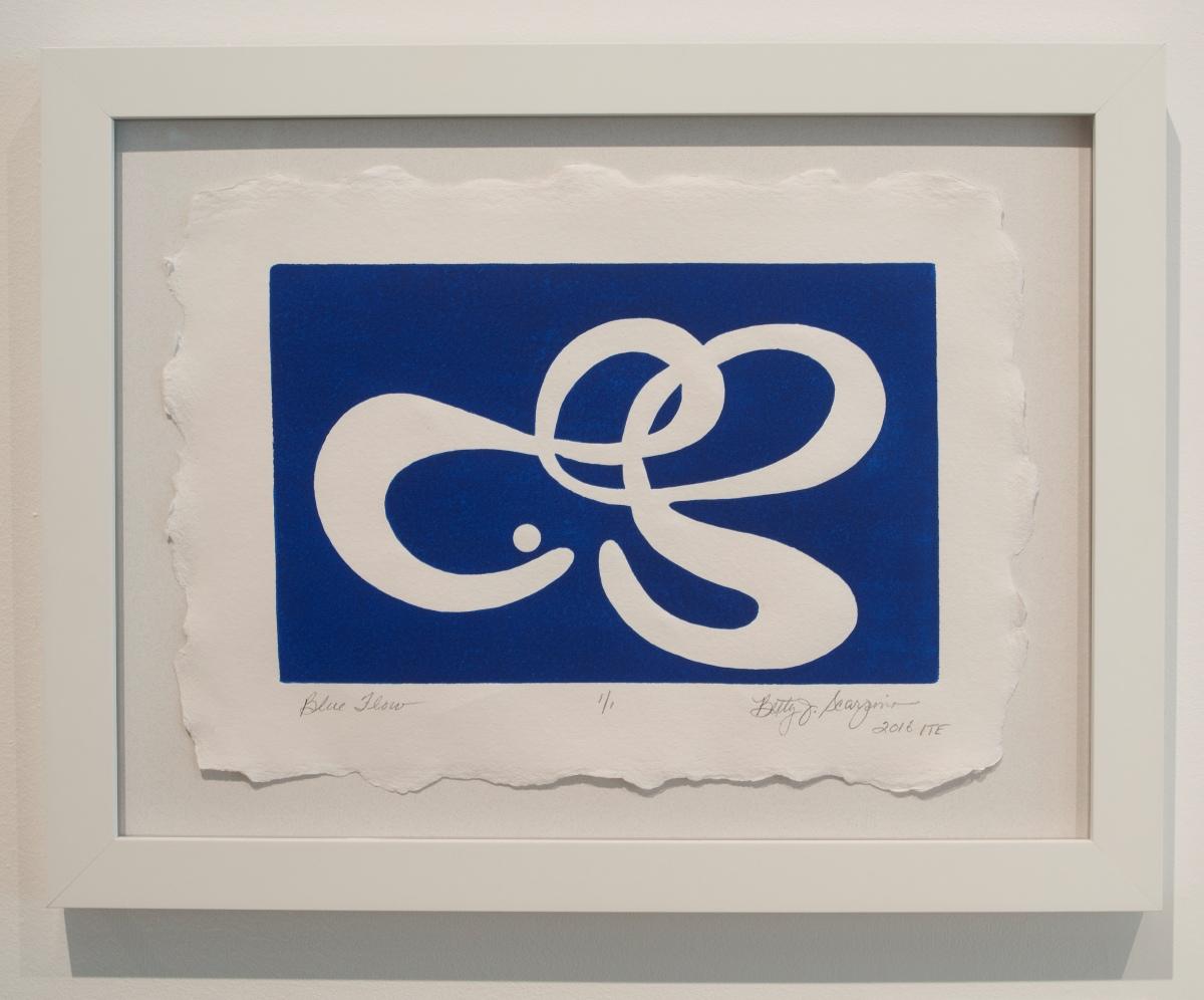 Blue Flow by Betty Scarpino