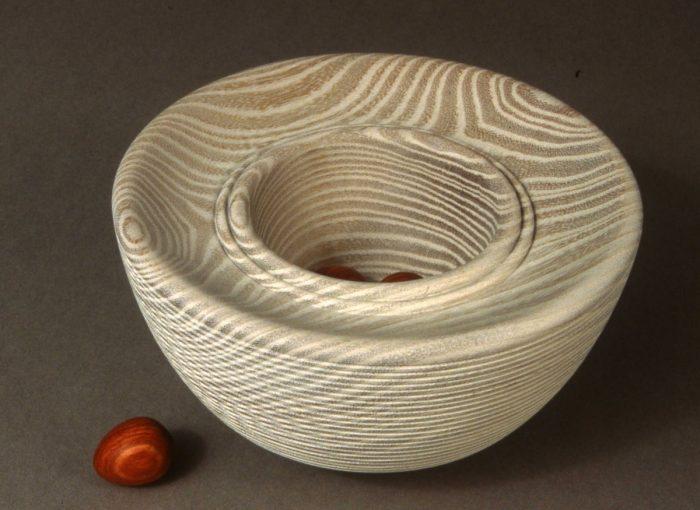Egg Bowl Osage by Betty Scarpino