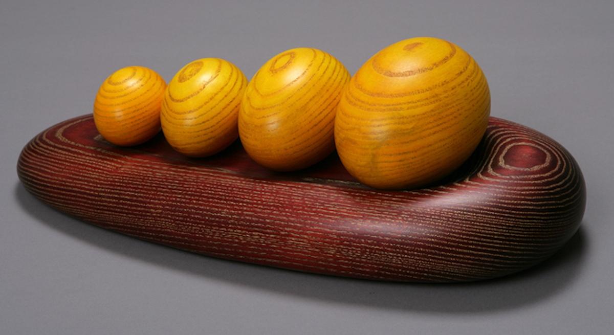 Four Yellow Eggs by Betty Scarpino