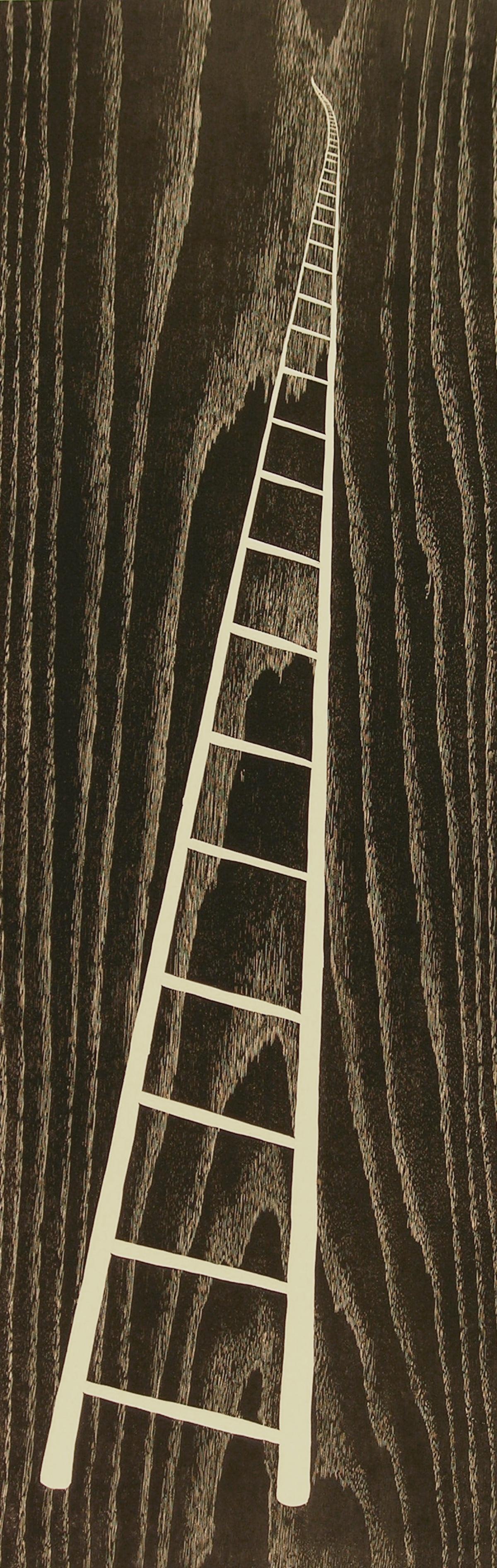 White Ladder by Betty Scarpino