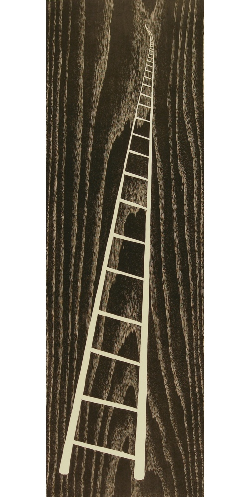 White Ladder by Betty Scarpino