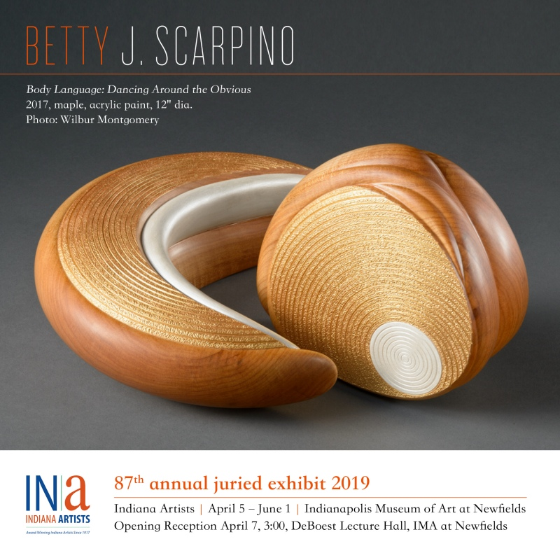 Indiana Artists 2019 Exhibit -- Betty Scarpino